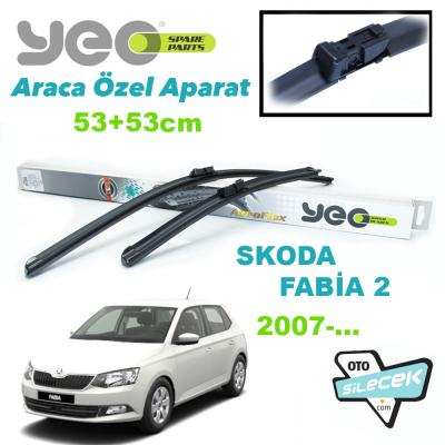 Skoda Fabia 2 Silecek Takımı YEO 2007->