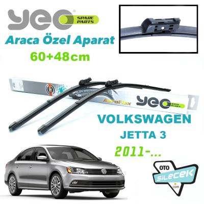 VW Jetta 3 Silecek Takımı 2011->