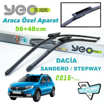 Dacia Sandero / Stepway Silecek Takımı YEO 2015->