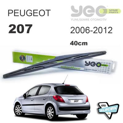 Peugeot 207 Arka Silecek YEO 2006 > 2012