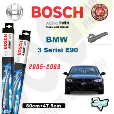 BMW 3 Serisi E90 Bosch Aerotwin Silecek Takımı 2005-2009
