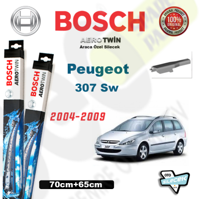 Peugeot 307 SW Bosch Aerotwin Silecek Takımı 2004-2009