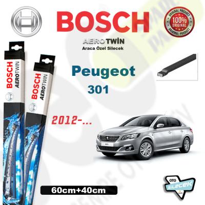 Peugeot 301 Bosch Aerotwin Silecek Takımı 2012->