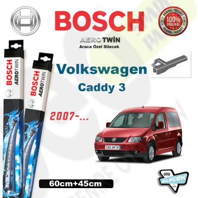 VW Caddy 3 Bosch Aerotwin Silecek Takımı 2007-..