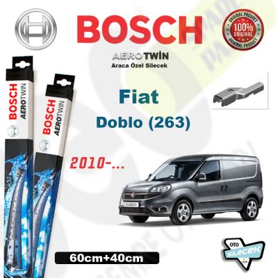 Fiat Doblo (263) Bosch Aerotwin Silecek Takımı 2010->