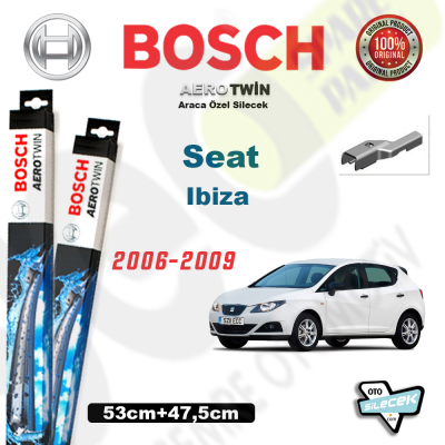 Seat İbiza Bosch Aerotwin Silecek Takımı 2006-2009
