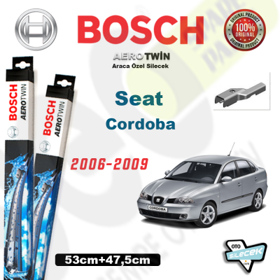 Seat Cordoba Bosch Aerotwin Silecek Takımı 2006-2009