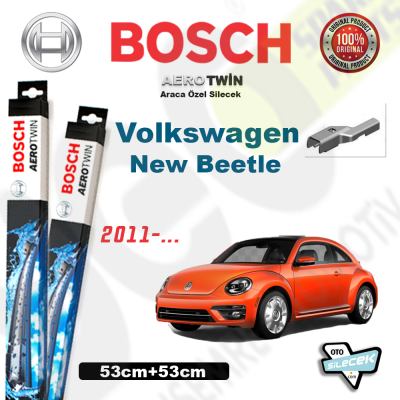 VW New Beetle Bosch Aerotwin Silecek Takımı