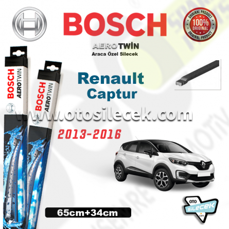 Renault Captur Bosch Aerotwin Silecek Takımı 2013-2016