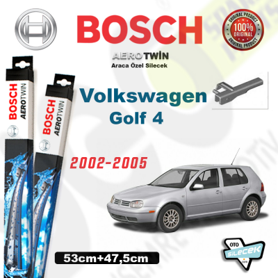 VW Golf 4 Bosch Aerotwin Silecek Takımı