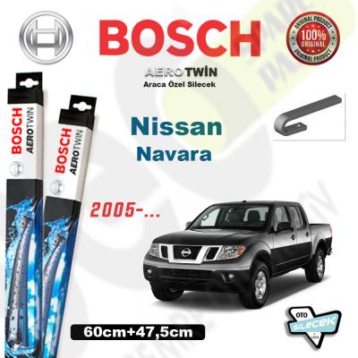 Nissan Navara Bosch Aerotwin Silecek Takımı 2005->