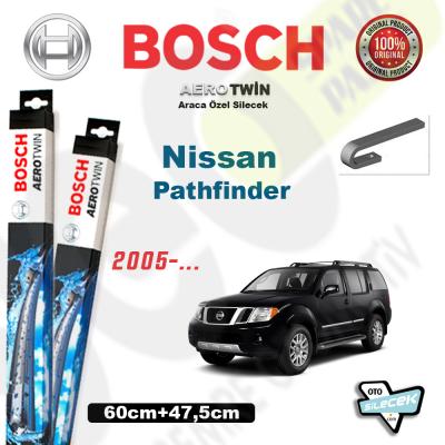 Nissan Pathfinder Bosch Aerotwin Silecek Takımı 2005->