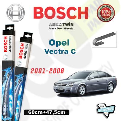 Opel Vectra C Bosch Aerotwin Silecek Takımı 2001->