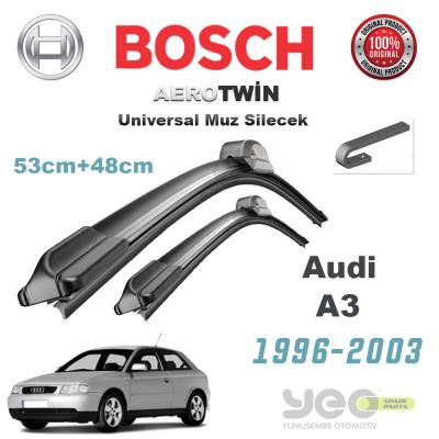 Audi A3 Bosch Aerotwin Universal Muz Silecek Takımı 1996-2003