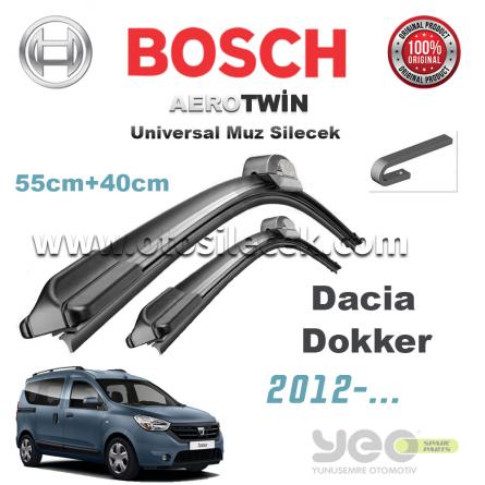 Dacia Dokker Bosch Universal Muz Silecek Takımı 2012->