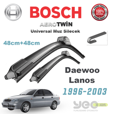 Dacia Duster Bosch Universal Muz Silecek Takımı 2009-2015
