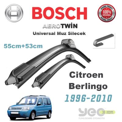 Citroen Berlingo Bosch Universal Silecek Takımı 1996-2010