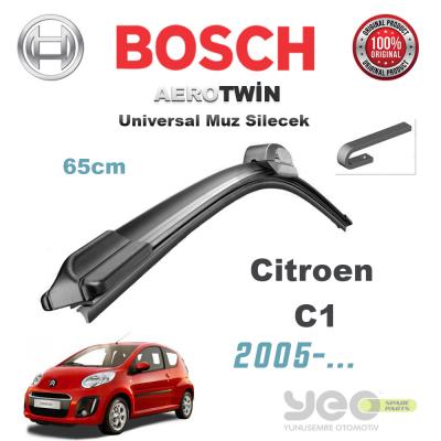 Citroen C1 Bosch Universal Muz Silecek Takımı 2005->
