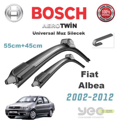 Fiat Albea Bosch Universal Muz Silecek Takımı 2002-2012