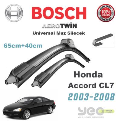Honda Accord CL7 Bosch Universal Silecek Takımı 2003-2008