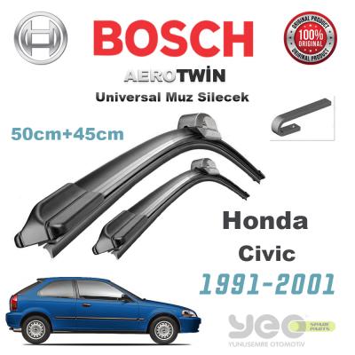 Honda Civic Bosch Universal Silecek Takımı 1991-2001