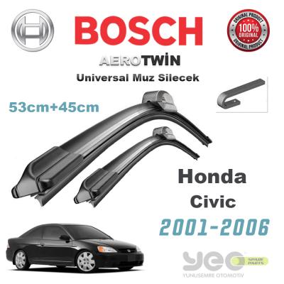 Honda Civic Bosch Universal Silecek Takımı 2001-2006