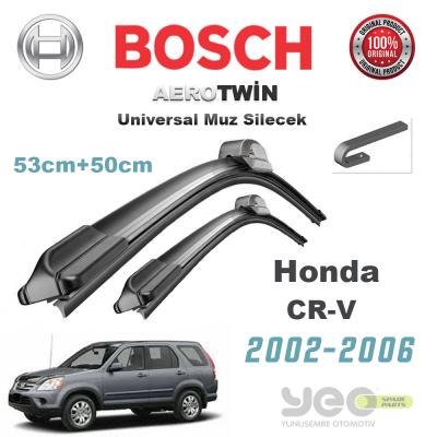 Honda CR-V Universal Bosch Silecek Takımı