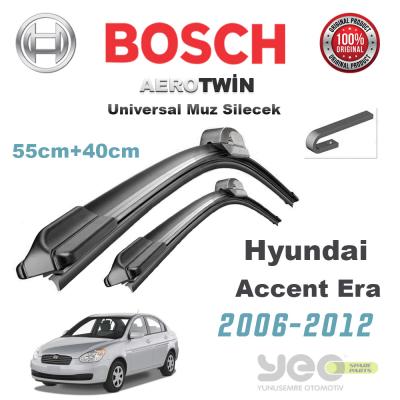 Hyundai Accent Era Bosch Aerotwin Muz Silecek Takımı 2006-2012