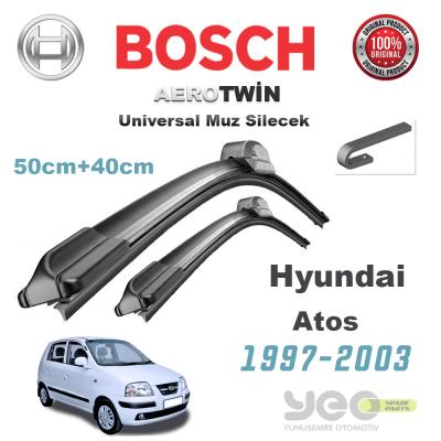 Hyundai Atos Bosch Aerotwin Muz Silecek Takımı 1997-2003