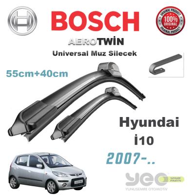 Hyundai i10 Bosch Aerotwin Muz Silecek Takımı 2007->