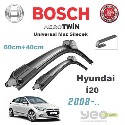 Hyundai i20 Bosch Aerotwin Muz Silecek Takımı 2008->