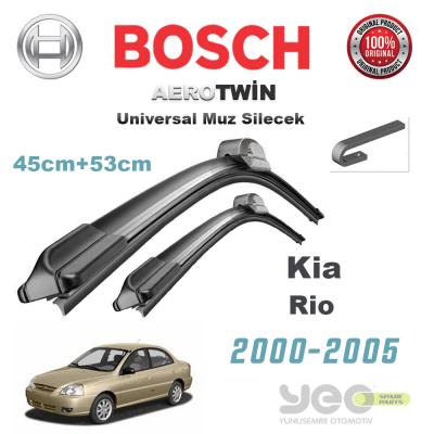 Kia Rio Bosch Aerotwin Muz Silecek Takımı 2000-2005