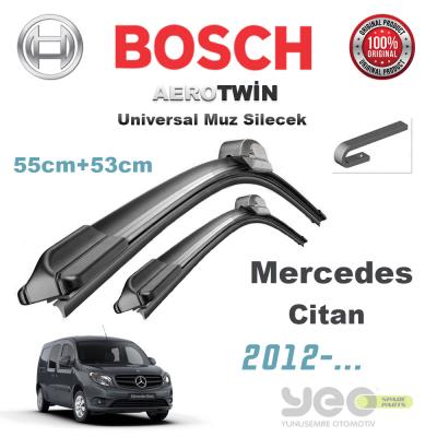Mercedes Citan Bosch Aerotwin Muz Silecek Takımı 2012->