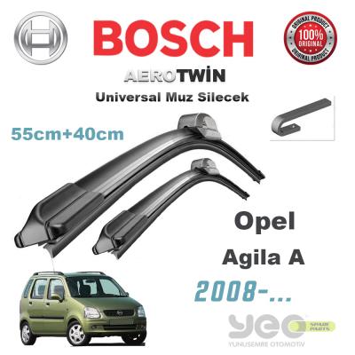Opel Agila Bosch Aerotwin Muz Silecek Takımı