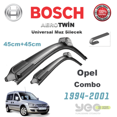 Opel Combo Bosch Aerotwin Muz Silecek Takımı 1994-2001