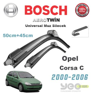 Opel Corsa C Bosch Aerotwin Muz Silecek Takımı 2000-2006