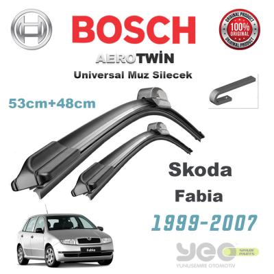 Skoda Fabia Bosch Aerotwin Muz Silecek Takımı 1999-2007