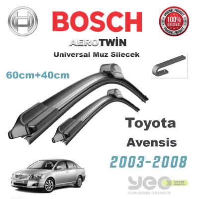 Toyota Avensis Bosch Aerotwin Muz Silecek Takımı 2003-2008