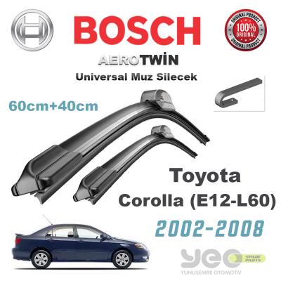 Toyota Corolla Bosch Aerotwin Muz Silecek Takımı 2002-2008