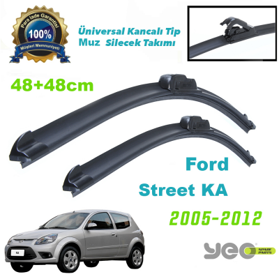 Ford Street KA Yeo Aeroflex Muz Silecek Takımı