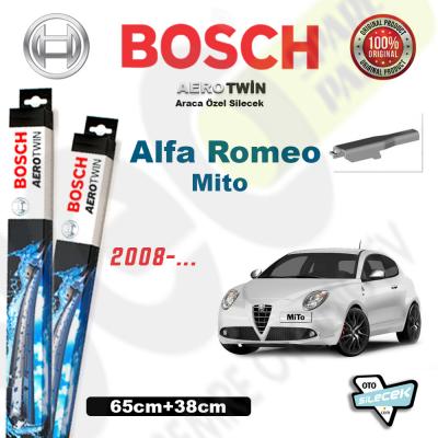 Alfa Romeo Mito Bosch Aerotwin Silecek Takımı 2008->