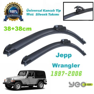 Jeep Wrangler YEO Aeroflex Muz Silecek Takımı