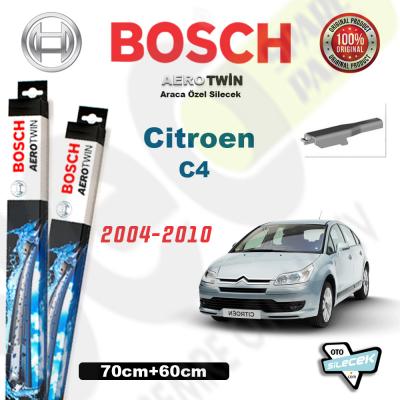 Citroen C4 Bosch Aerotwin Silecek Takımı 2004-2010