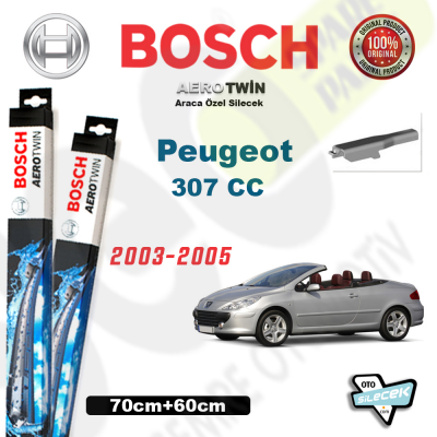 Peugeot 307 CC Silecek Takımı Bosch Aerotwin 2003-2005
