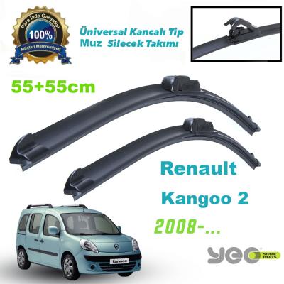 Renault Kangoo 2 2008-...Yeo Aeroflex Muz Silecek Takımı