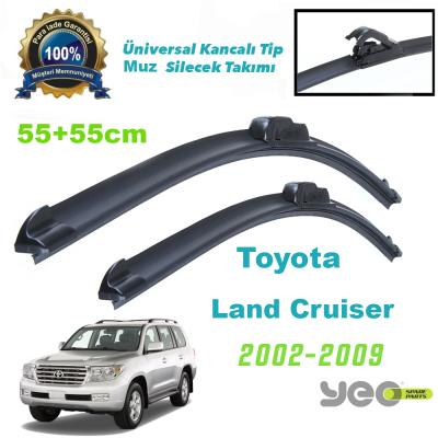 Toyota Land Cruiser (2002-2009) Muz Silecek Takımı Yeo Aeroflex