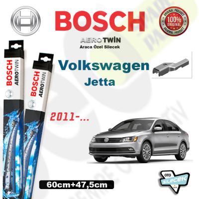 VW Jetta Bosch Aerotwin Silecek Takımı 2011-