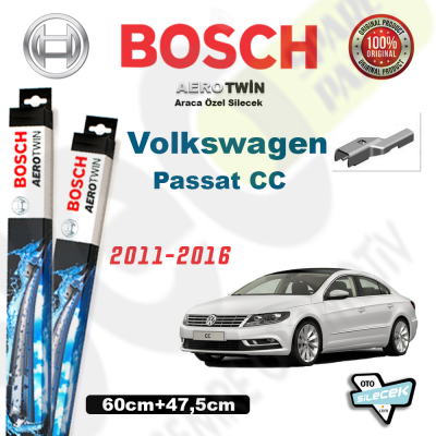 VW Passat CC Bosch Aerotwin Silecek Takımı 2012->