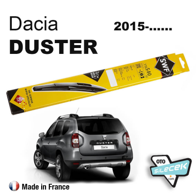 Dacia Duster Arka Silecek SWF 2015-