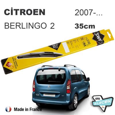 Citroen Berlingo 2 Arka Silecek SWF 2008->